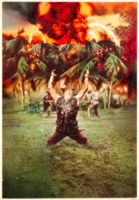 "Platoon (Orion, 1986). Original Mike Bryan Poster Artwork (30"" X 44""). ... (Total: 2 Items)"