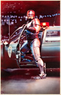 "Movie Posters:Action, RoboCop (Orion, 1987). Original Mike Bryan Poster Artwork (33.25"" X51.25"").. ... (Total: 2 Items)"