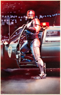 "RoboCop (Orion, 1987). Original Mike Bryan Poster Artwork (33.25"" X 51.25""). ... (Total: 2 Items)"