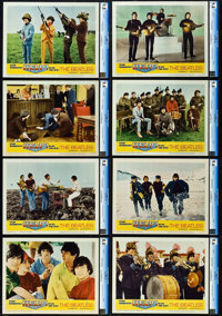 """Help! (United Artists, 1965). CGC Graded Lobby Card Set of 8 (11"""" X 14""""). ... (Total: 8 Items)"""