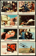 "Movie Posters:Hitchcock, North by Northwest (MGM, 1959). Lobby Card Set of 8 (11"" X 14"")..... (Total: 8 Items)"
