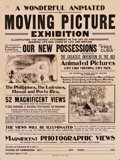 """Movie Posters:Miscellaneous, Sears Roebuck Film Exhibition Poster (Circa 1900-1908). Poster (21"""" X 28"""").. ..."""