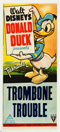 "Movie Posters:Animation, Trombone Trouble (RKO, 1944). Australian Daybill (13"" X 30"").. ..."