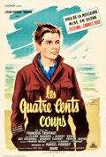 "Movie Posters:Foreign, The 400 Blows (Cocinor, 1959). French Petite (16"" X 23.25"").. ..."