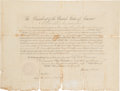 Autographs:U.S. Presidents, Abraham Lincoln Consul Appointment Signed ...