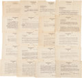 Autographs:Authors, Upton Sinclair Archive of 24 Letters,... (Total: 24 Items)
