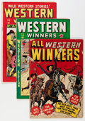 Golden Age (1938-1955):Miscellaneous, Timely Western Comics Group (Timely, 1950s).... (Total: 3 Comic Books)