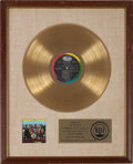 Music Memorabilia:Awards, Beatles Sgt. Pepper's Lonely Hearts Club Band RIAA GoldRecord Award (Capitol 2653, 1967)....