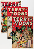 Golden Age (1938-1955):Cartoon Character, Terry-Toons Comics Group (Timely, 1943-47) Condition: AverageVG.... (Total: 7 Comic Books)