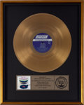 Music Memorabilia:Awards, Rolling Stones Let It Bleed RIAA Gold Record Award (London9363, 1969)....