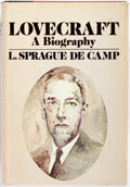 Books:Biography & Memoir, [H. P. Lovecraft]. L. Sprague de Camp. INSCRIBED. Lovecraft.A Biography. Garden City: Doubleday, 1975. Inscri...