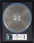 "Music Memorabilia:Recordings, U2 Original Metal Master Plate ""Unchained Melody/ Everlasting Love""(Island, 1989)...."
