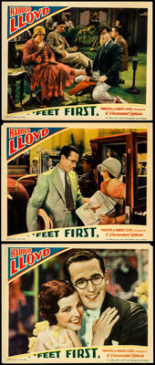 """Feet First (Paramount, 1930). Lobby Cards (3) (11"""" X 14""""). ... (Total: 3 Items)"""