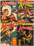 Pulps:Adventure, Adventure Group (Ridgway Company, 1938-52) Condition: Average VG-.... (Total: 13 Comic Books)