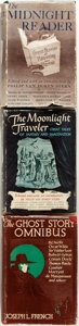 Books:Horror & Supernatural, Group of Three Supernatural or Fantasy Anthologies. Variouspublishers, 1942-1943. Includes: The Ghost Story Omnibus[an... (Total: 3 Items)
