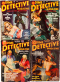 Pulps:Detective, Dime Detective Magazine Group (Popular, 1938-52) Condition: Average VG.... (Total: 29 Items)