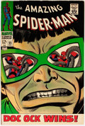 Silver Age (1956-1969):Superhero, The Amazing Spider-Man #55 (Marvel, 1967) Condition: Apparent VF....