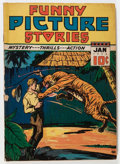 Golden Age (1938-1955):Miscellaneous, Funny Picture Stories V3#1 (Comics Magazine, 1939) Condition: GD....
