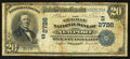 National Bank Notes:Kentucky, Newport, KY - $20 1902 Date Back Fr. 642 The German NB Ch. #(S)2726. ...