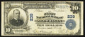National Bank Notes:Maine, Skowhegan, ME - $10 1902 Plain Back Fr. 624 The First NB Ch. # 239....