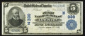 National Bank Notes:Maine, Lewiston, ME - $5 1902 Plain Back Fr. 598 The First NB Ch. #(N)330. ...