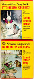Books:Children's Books, [Harrison Cady, Illustrator]. Thornton W. Burgess. Pair of BedtimeStory-Books, Including The Adventures of Grandfather ... (Total:2 Items)