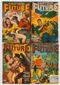 Pulps:Science Fiction, Captain Future Group (Better Publications, 1941-44) Condition:Average VG-.... (Total: 12 Comic Books)