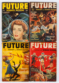 Pulps:Science Fiction, Future Group (Columbia, 1940-52) Condition: Average GD/VG....(Total: 11 Comic Books)