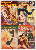 Pulps:Detective, Hollywood Detective Group (Trojan Publishing, 1945-50) Condition:Average VG+.... (Total: 12 Comic Books)