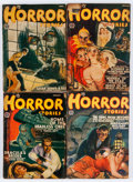Pulps:Horror, Horror Stories Group (Popular, 1938-41) Condition: Average VG-.... (Total: 15 Items)