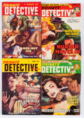Pulps:Detective, Private Detective Stories Group (Trojan Publishing, 1941-50)Condition: Average VG+.... (Total: 24 Comic Books)