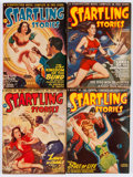 Pulps:Science Fiction, Startling Stories Box Lot (Standard, 1947-54) Condition: AverageVG....