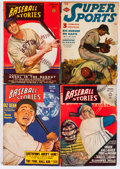 Pulps:Miscellaneous, Sports-Related Pulps Box Lot (Various Publishers, 1947-51) Condition: Average VG....