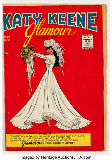 Katy Keene Glamour #1 (Archie, 1957) Condition: FN....