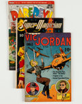 Golden Age (1938-1955):Miscellaneous, Comic Books - Assorted Golden Age Comics Group (Various Publishers, 1940s-'50s) Condition: Average VG.... (Total: 17 Comic Books)