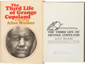 Books:Literature 1900-up, Alice Walker. The Third Life of Grange Copeland. Harcourt,Brace, Jovanovich, [1970]. First edition, review copy....