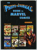Books:Reference, Photo-Journal Guide to Marvel Comic Books, The Two Volume HardbackSet (Gerber Publishing, 1991). An apparently unused copy ...