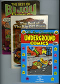 Bronze Age (1970-1979):Alternative/Underground, Underground Comix Trade Paperback/Graphic Novel Group (Various, 1971-75). Group contains graphic novel compilations of class... (Total: 4 Comic Books)