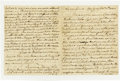 "Autographs:Statesmen, Richard Henry Lee Autograph Letter Signed ""Richard HenryLee"" as President of the United States in Congress Assemble..."