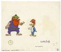 "Animation Art:Production Cel, Woody Woodpecker ""Coo Coo Nuts"" Animation Production Cel #1350 andDrawing Original Art, Group of 4 (Walter Lantz Productions,...(Total: 4 Items)"
