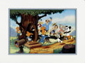 "Animation Art:Limited Edition Cel, ""Woody Greets His Friends"" Limited Edition Hand Painted Cel#249/500 Original Art with Walter Lantz Signed Payroll Check(Walt... (Total: 2 Items)"