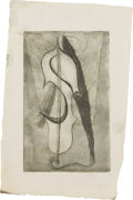 Paintings, FLORA BLANC REEDER (1916-1995). Sound, 1930's. Etching and soft ground. 6in. x 3.75in.. Unsigned, but accompanied by aut...