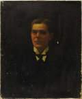 Texas:Early Texas Art - Impressionists, SOLOMON SALOMON (1869-1937). Portrait of a Gentleman, 1919.Oil on linen. 30in. x 25in.. Signed and dated lower right. ...