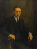 Texas:Early Texas Art - Impressionists, BORIS B. GORDON (1882-1976). Portrait, 1932. Oil on canvas.40in. x 30in.. Signed and dated lower right. Boris Gordon ...