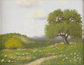 Texas:Early Texas Art - Impressionists, HUGO HERBECK (1923-). Untitled. Oil on canvas. 11in. x14in.. Signed lower left. ...