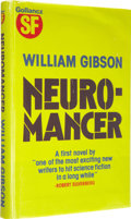 Books:Signed Editions, William Gibson: Neuromancer London: Victor Gollancz Limited,1984....