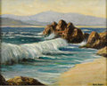 Texas:Early Texas Art - Impressionists, ROLLA TAYLOR (1871-1970). Untitled, 1930's. Oil on canvas.16in. x 20in.. Signed lower right. A coastal scene possibly...