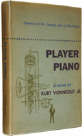"Books:First Editions, Kurt Vonnegut, Jr.: Player Piano (New York: CharlesScribner's Sons, 1952), first edition (""A"" and the Scribner's sealo... (Total: 1 Item)"