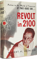 Books:Signed Editions, Robert A. Heinlein: Signed First Edition of Revolt in 2100(Chicago: Shasta Publishers, 1953), first edition, 317 pages,...(Total: 1 Item)