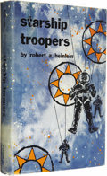 Books:First Editions, Robert A. Heinlein: Starship Troopers (New York: G.P.Putnam's Sons, 1959), first edition, 309 pages, blue cloth withsi... (Total: 1 Item)